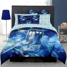 doctor who tardis bed in a bag thinkgeek