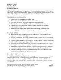 property paralegal cover letter