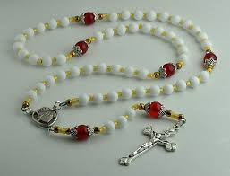 sacred heart rosary catholic collectibles
