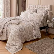 Taupe Duvet Dorma Taupe Valentina Collection Duvet Cover Set Dunelm