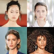 earrings trends statement earrings are trending at nyfw 2017 instyle