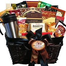 food basket gifts coffee connoisseur gourmet food gift basket gourmet