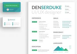 resume business card samples free creative resume templates