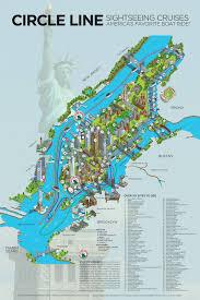 New York Tourist Attractions Map by Rod Hunt Illustration Studio Illustration And Maps Portfolios