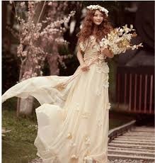 champagne colored plus size wedding dresses clothing for large
