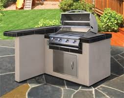 Outdoor Kitchen Cabinets Polymer Cabinets Countertops And Flooring For Your Outdoor Kitchen