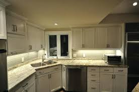 Undermount Kitchen Lights Brilliant Led Cabinet Lighting Intended For Undermount