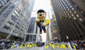 thanksgiving day parade in new york city xinhua news cn