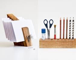 Wood Desk Organizer by Desk Organizer Set Wooden Desk Set Desktop Organizer