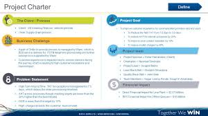 project charter template ppt project download business proposal