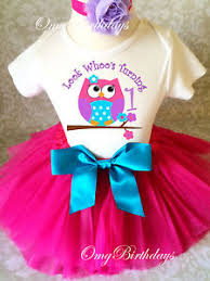 baby girl 1st birthday pink blue purple owl look who baby girl 1st birthday tutu