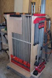 Mobile Wood Storage Rack Plans by 68 Best Clamp Racks Images On Pinterest Workshop Ideas Workshop