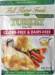 turkey gravy mix flavor foods turkey gluten free gravy mix product amount
