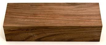 wood block turning stock walnut wood block fancy grade item
