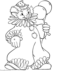 clown coloring pages happy clown coloring pages u20ac kids coloring