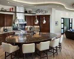 oval kitchen islands designer oval kitchen islands with stools ramuzi kitchen