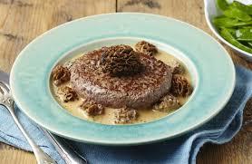 cuisiner steak haché steak haché de boeuf à la crème de morilles recettes de cuisine