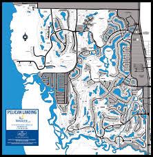 Map Of Estero Florida by Pelican Landing Map Link Team Florida