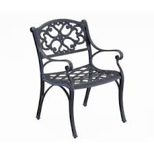 Biscayne Patio Furniture by Home Styles Biscayne Bronze Patio Dining Chair 2 Pack 5555 802