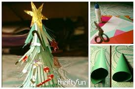 recycled paper mini trees thriftyfun