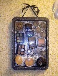 leslie marquez designs diy magnetic makeup organizer