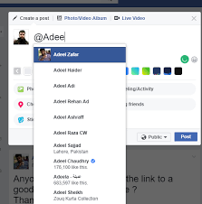 asp net tag in post feature for social media application stack