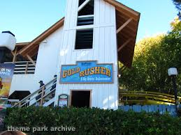 Goldrusher Six Flags Magic Mountain Six Flags Magic Mountain Theme Park Archive