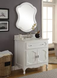 white knoxville bathroom vanity w mirror gd 1533wt mir