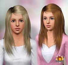 sims 3 hair custom content sims 3 hair hairstyle genetics female sims 3 custom content