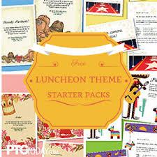 4 appreciation luncheon themes pto today