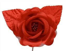 satin roses satin picks silk poly and ribbon roses floral supplies