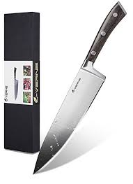 razor sharp kitchen knives professional chef knife riveted forged 8 inch