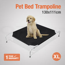 large pet trampoline bed dog cat puppy size 130x110cm u2013 my
