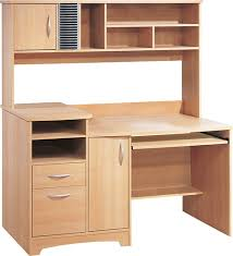Maple Desk With Hutch South Shore Home Office Hutch Style Computer Desk 7243787 Best Buy