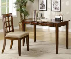 Contemporary Writing Desk Evelyn Writing Desk And Chair Chestnut