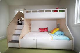 Bunk Bed With Pull Out Bed Bunk Bed 2 Ton