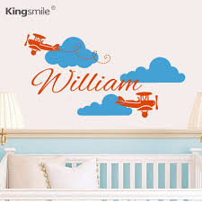 Stickers Muraux Nuages Blancs by Online Get Cheap Avion Nuage Wall Sticker Aliexpress Com