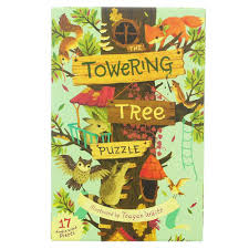 towering tree puzzle toys crafts