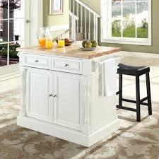 crosley butcher block top kitchen island kitchen crosley kf300064wh butcher block top kitchen island in