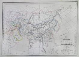 Map Of Asia And Europe by File 1837 Malte Brun Map Of The Mongol Empire In Asia And Europe