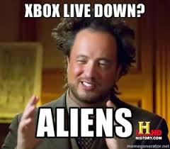 Xbox Live Meme - mass exodus of nerds from basements as xbox live goes down observer