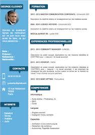 modern resume template word 2017 gratuit exemple cv gratuit a telecharger pinteres