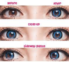 halloween contact lens g u0026g king size circle aqua circle lenses pinkyparadise