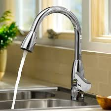 American Kitchen Faucet Colony Soft 1 Handle High Arc Pull Kitchen Faucet American
