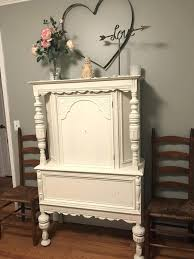 shabby chic china cabinet shabby chic hutch painted cottage chic shabby aqua romantic french