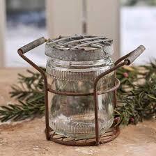 primitive kitchen canisters vintage zinc glass frog vase decorative containers