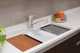 Lenova Ledge Prep Sink Brings Sleek Style Functionality - Kitchen prep sinks