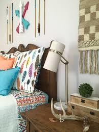 adventure awaits create a boho chic teen girls bedroom with arrow