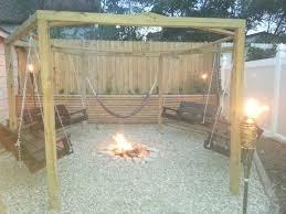 Swing Fire Pit by Top 25 Best In Ground Fire Pit Ideas On Pinterest Sunken Fire