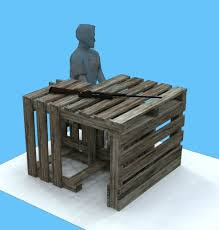 Plans For A Shooting Bench Diy Pallet Shooting Bench Texasbowhunter Com Community